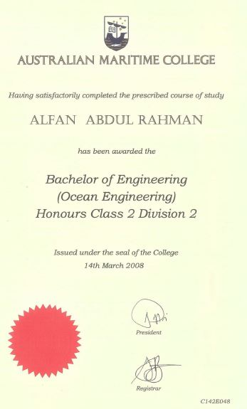 Bachelor-of Eng-(Ocean Eng)